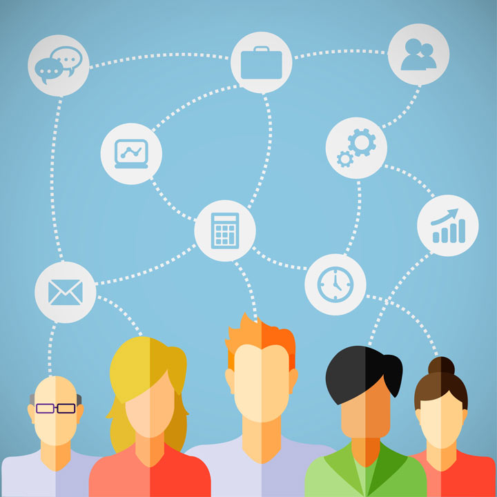آموزش الکترونیکی مبتنی بر شبکه های اجتماعی