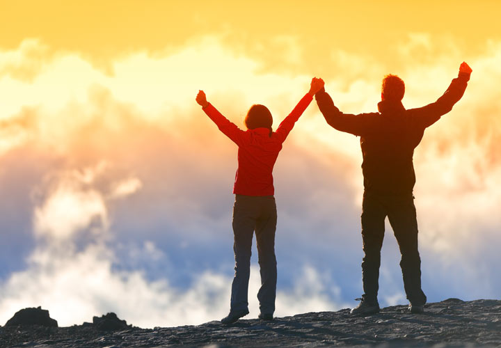 با احترام به همسر خود میتوانید قلههای زندگی مشترکتان را راحتتر فتح کنید.