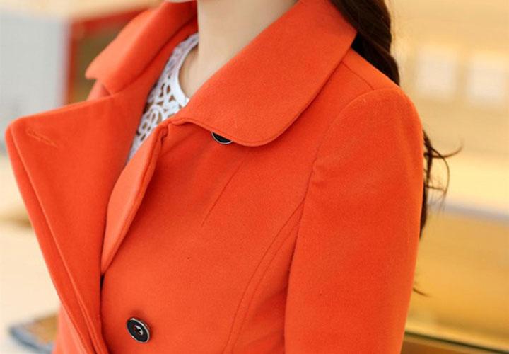 لباس نارنجی ـ طرز لباس پوشیدن