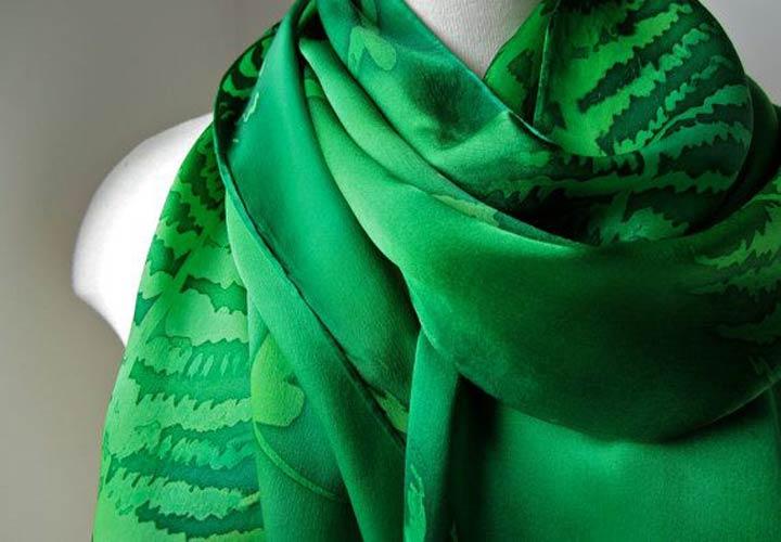 شال سبز ـ طرز لباس پوشیدن