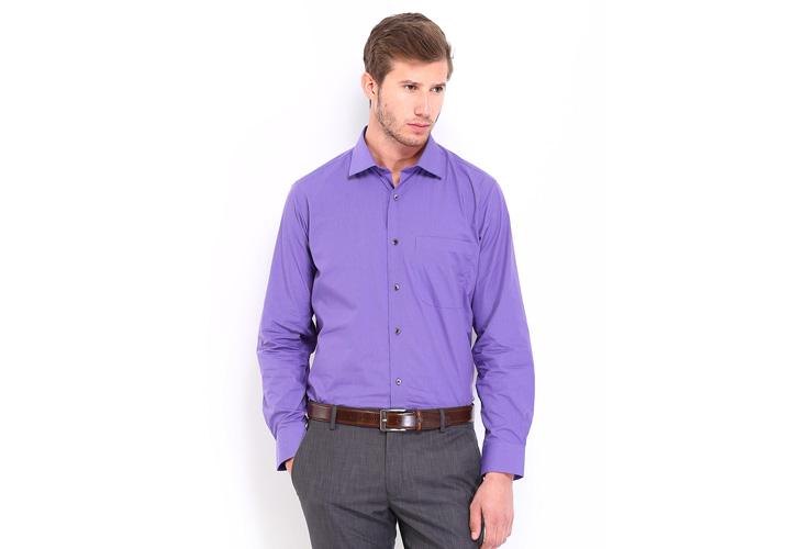 لباس بنفش ـ طرز لباس پوشیدن
