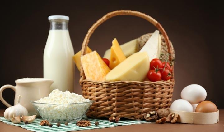 محصولات لبنی منبع ویتامین ها