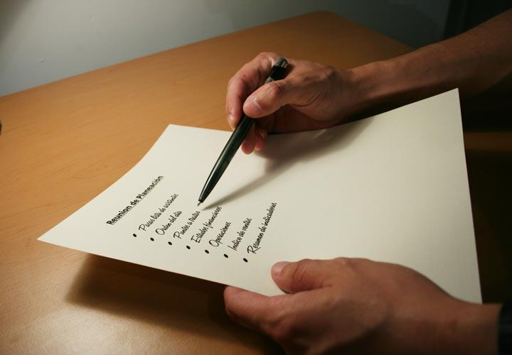 اولویت بندی کارها - برای کارهای و مسئولیتها لیستی تهیه کنید