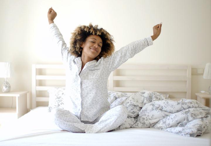 چگونه پر انرژی باشیم - بیدار شدن