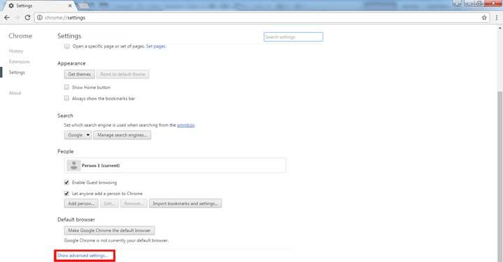 حذف تبلیغات اینترنتی در گوگل کروم