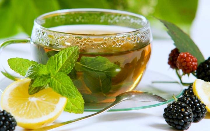 چای سبز برای داشتن صبحانه سالم