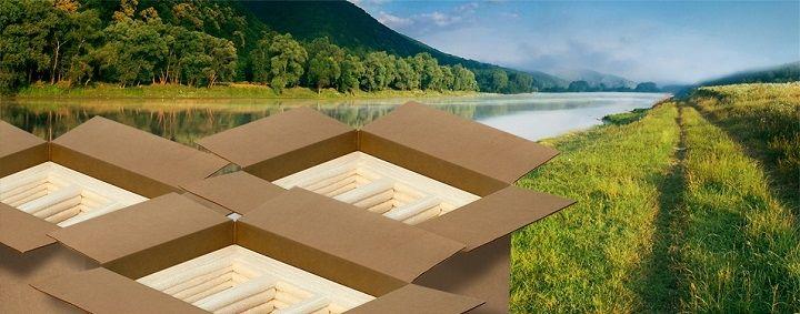 در بسته بندی سبز از چه موادی استفاده میشود