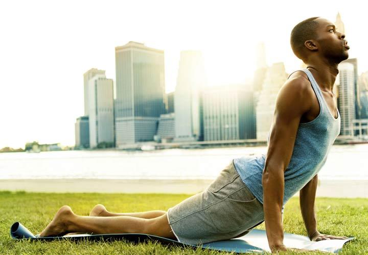 ورزش یوگا و آرامش