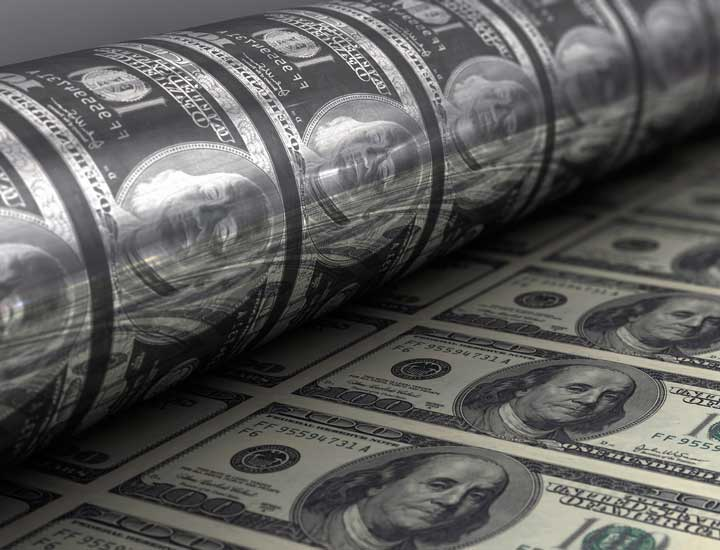 پول چیست - چاپ پول