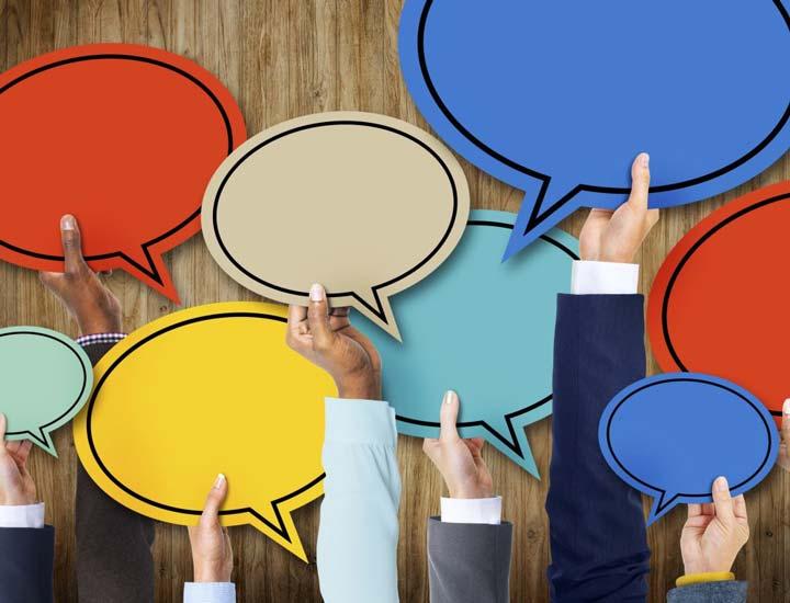 در یک محیط کار ایده آل ارتباطات باز و شفاف هستند