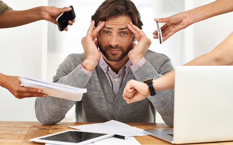 سلامت روان - اجازه ندهید مسائل کوچک شما را از پا در بیاورند