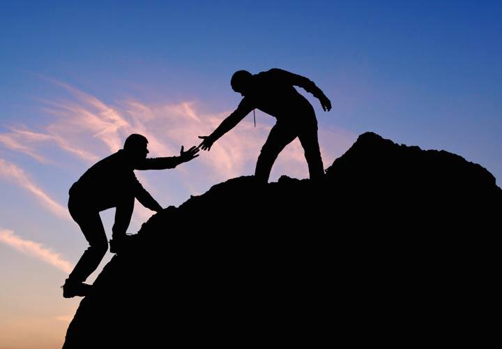 امید در زندگی - به حمایت دیگران تکیه کنید