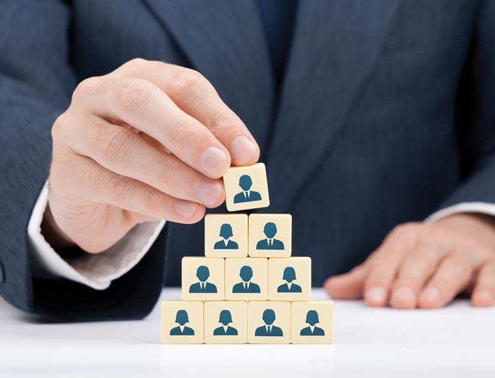 ساختار سلسله مراتبی در مدیریت کلاسیک