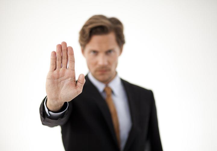 مهارت های مذاکره - تمرین نه گفتن کنید تا در صورت نیاز راحتتر این کار را انجام دهید