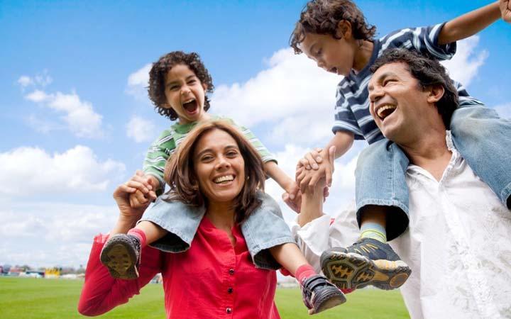 خوشبینی - خانواده