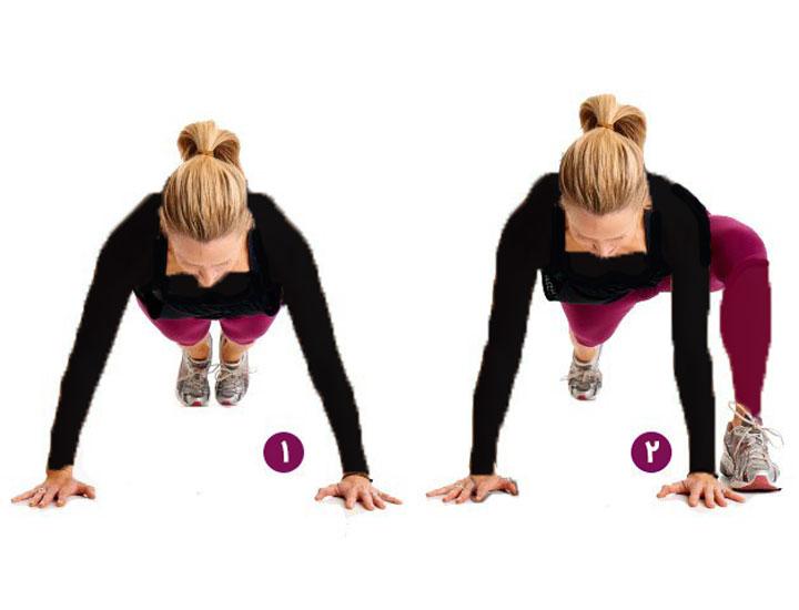 حرکت پلانک دونده - چگونه بدنی انعطاف پذیر داشته باشیم