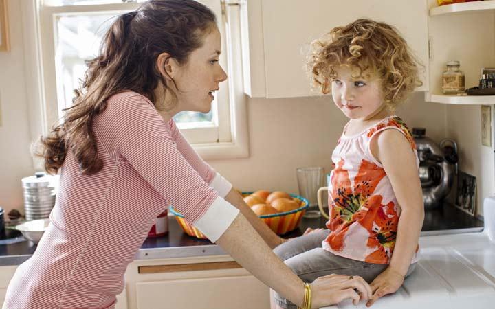 قانون بگذارید - چگونه با کودک خود رفتار کنیم