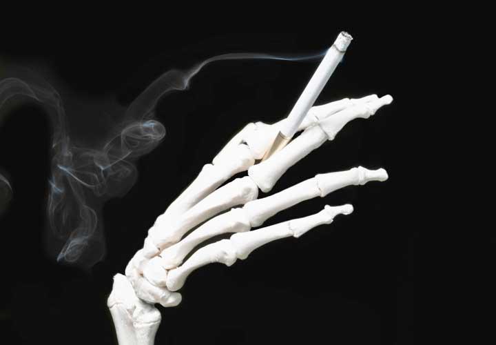 پیشگیری از پوکی استخوان با ترک سیگار