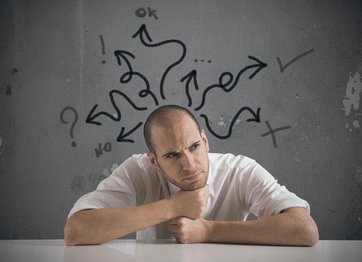 تفکر استراتژیک از فرآیندهای ذهنی مختلف استفاده می کند.