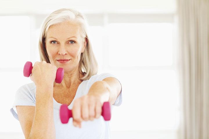 ورزشهای قدرتی برای پیشگیری از پوکی استخوان