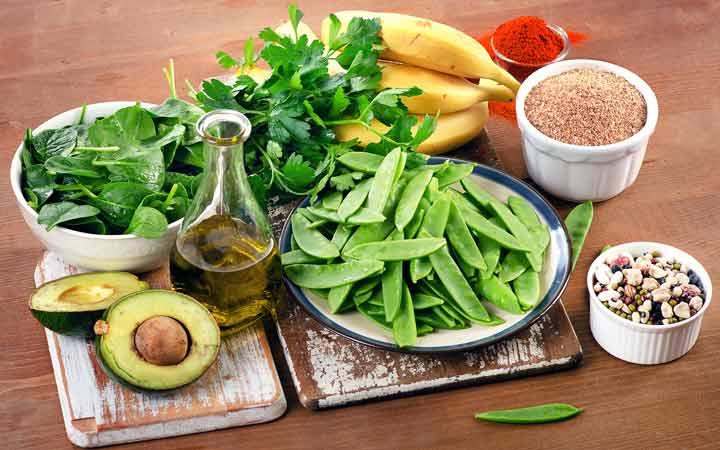 میوه و سبزیجات حاوی ویتامین k