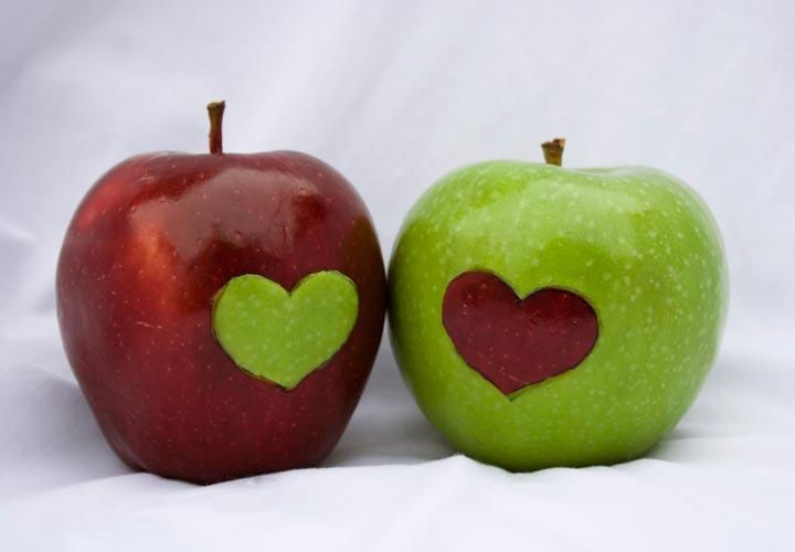 خواص سیب - سیب با روشهای مختلفی به سلامت قلب کمک می کند.