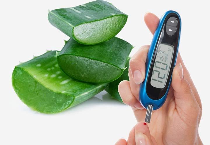 خواص آلوئه ورا - آلوئه ورای خوراکی در کاهش قند خون موثر است.