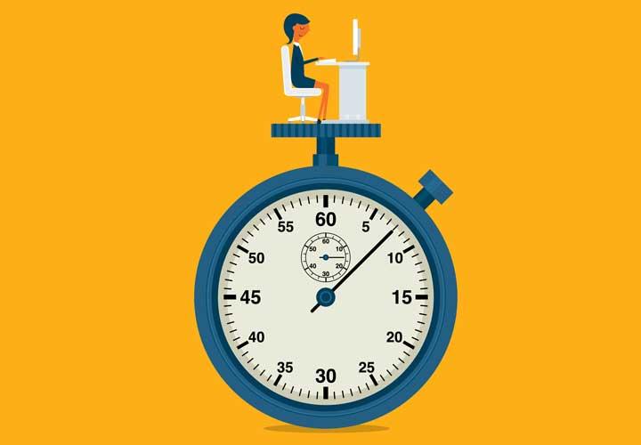 بازههای زمانی روشن در مدیریت برمبنای هدف تعریف شده است