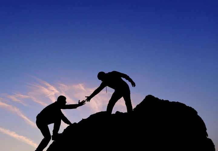دید مثبت-کمک به دیگران