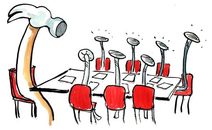 برای مدیریت جلسات اول هدف تعیین کنید