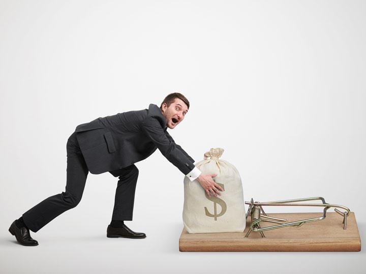 راز ثروتمند شدن در خطر کردن حساب شده است