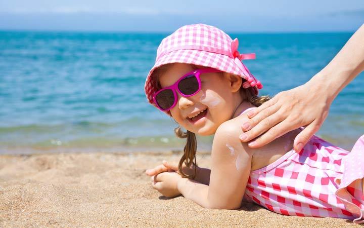 ضد آفتاب - روشن شدن پوست صورت