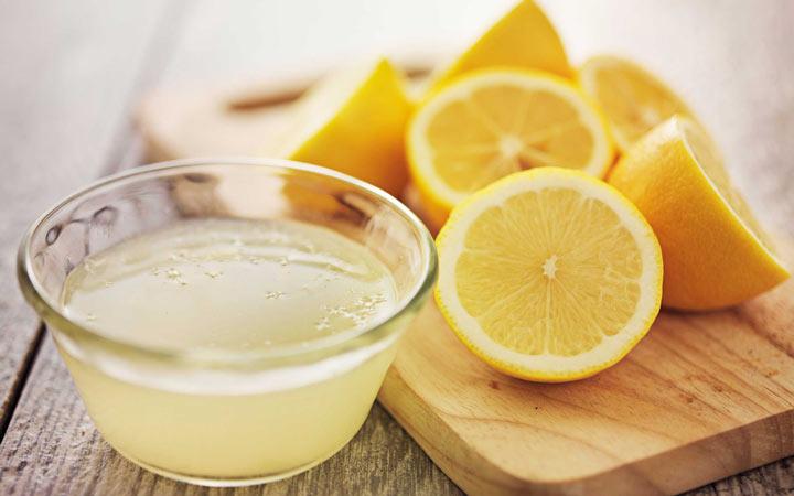 آب لیمو ترش - روشن شدن پوست صورت