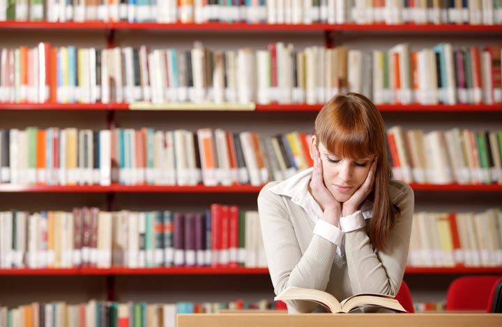 محیط راحت و بدون حواس پرتی به درس خواندن بدون خستگی کمک میکند - چگونه درس بخوانیم که خسته نشویم