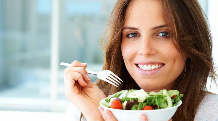 رضایت از زندگی - تغذیهی سالم
