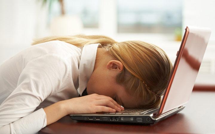 نشانه های استرس - خستگی بیش از حد