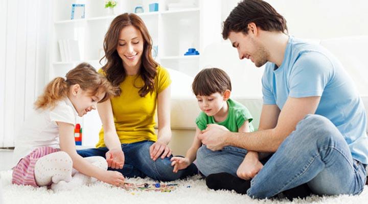 رضایت از زندگی - وقت گذراندن با خانواده