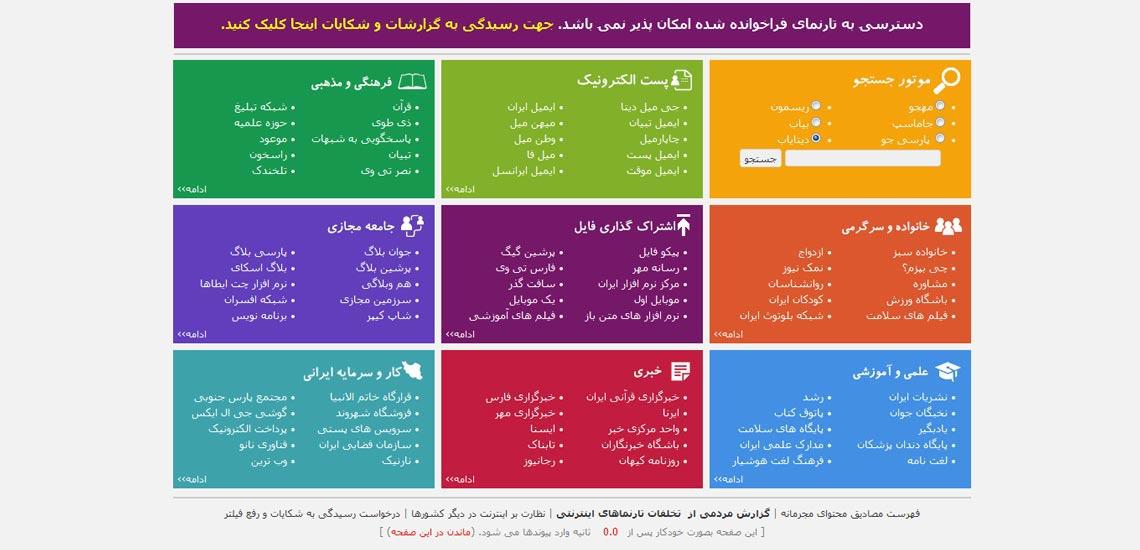 نحوه فیلترینگ در ایران چگونه است؟