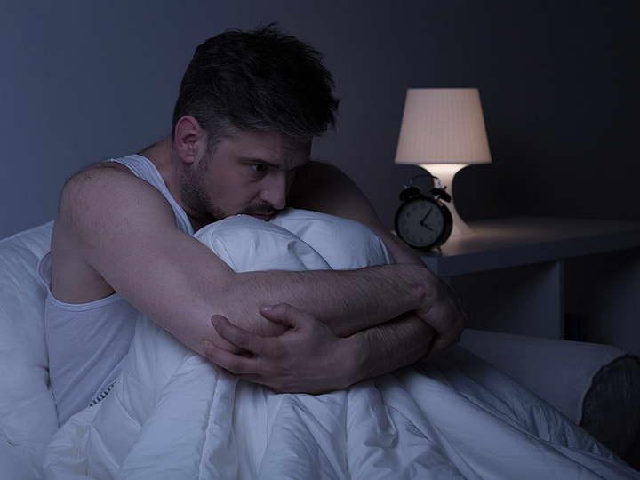 دلایل بی خوابی