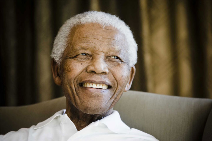 شخصیت کاریزماتیک ، نلسون ماندلا