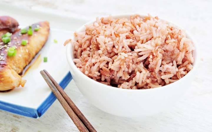خواص برنج قهوه ای - پخت و پز
