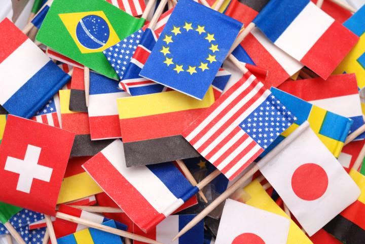 تصویری از پرچم کشورهای مختلف - چرا مهاجرها کارآفرین ترند
