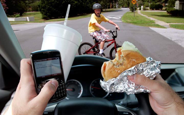 فرهنگ رانندگی - رفتارهای رانندگی