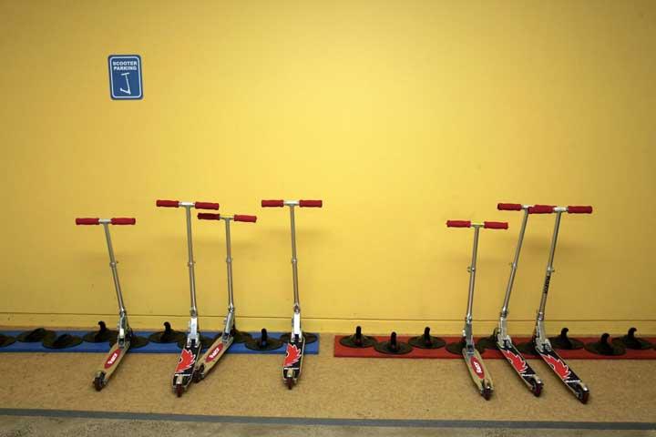 کلاسها و امکانات ورزشی رایگان در محل کار گوگل