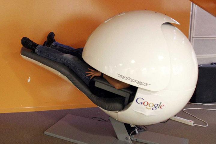 زندگی در آینده در محل کار گوگل