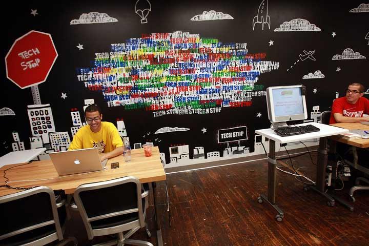 ایستگاه فناوری در محل کار گوگل