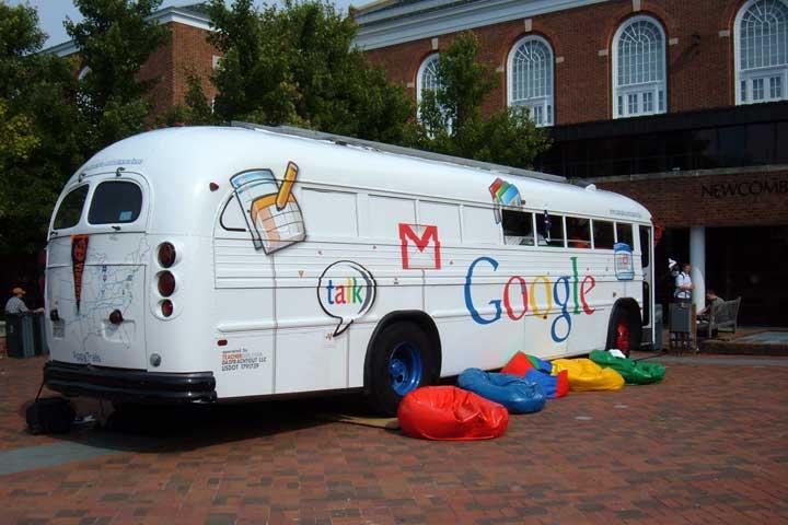 سرویس رایگان به محل کار گوگل