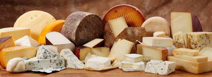 جلوگیری از پوسیدگی دندان - خوردن انواع پنیرها