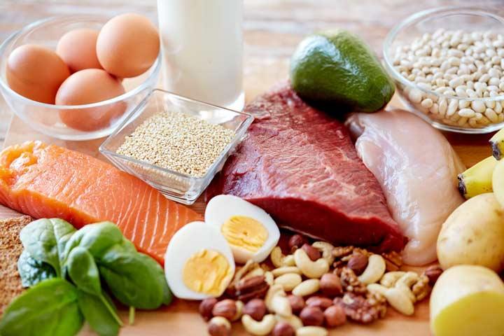 خوراکی های سرشار از پروتئین مفید در آب کردن شکم و پهلو