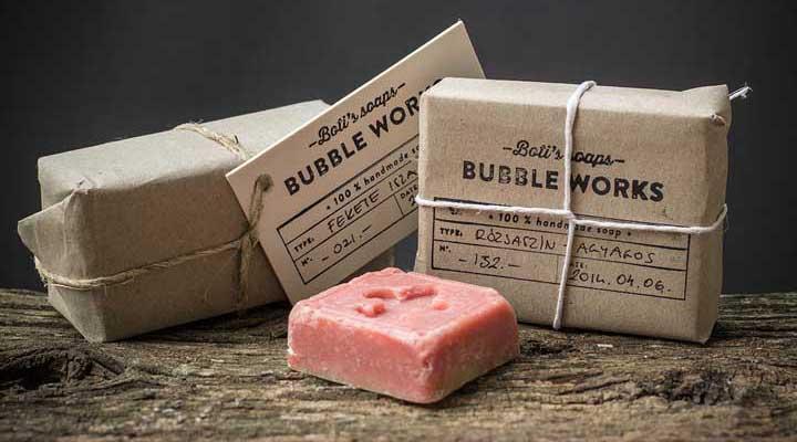 بسته بندی محصولات - بسته بندی مهر و موم شده صابون